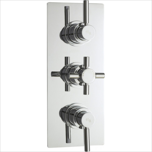 Hudson Reed - Tec Pura Triple Thermostatic Shower Valve With Diverter
