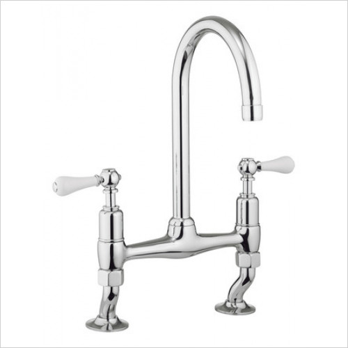 Crosswater - Belgravia Deck Mounted Kitchen Mixer