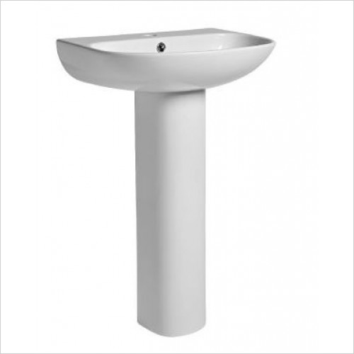 Tavistock Bathrooms - Orbit/Micra Pedestal For Hand Wash Basins SB145/DB145S