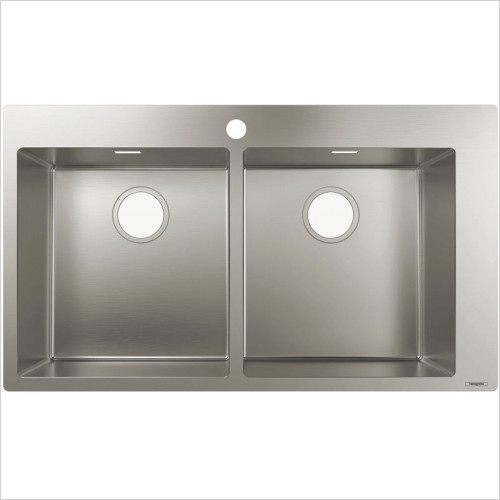 Hansgrohe - S711-F765 Built-In Sink 370 x 370