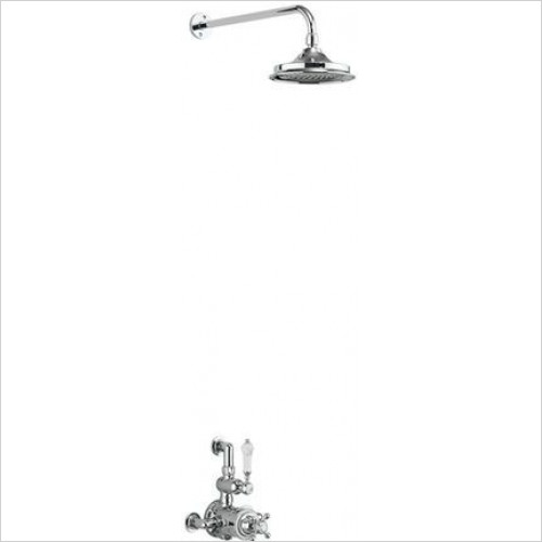 Burlington - Avon Single Outlet Partially Exposed Shower Valve Set