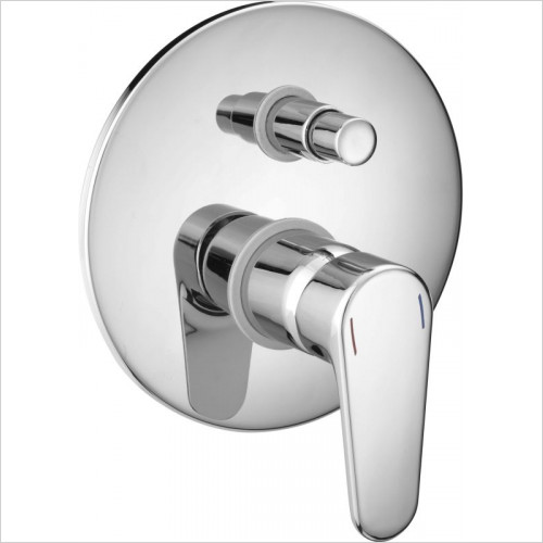 Cifial - Viva Concealed Bath/Shower Mixer (Hp)