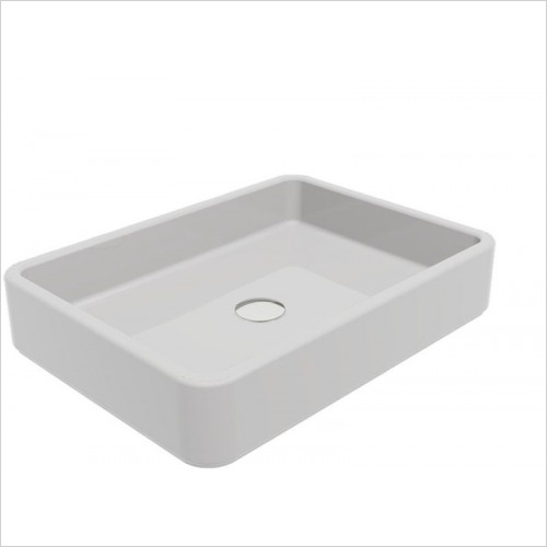 Cifial - F1 Rectangular 520mm Countertop Basin NTH