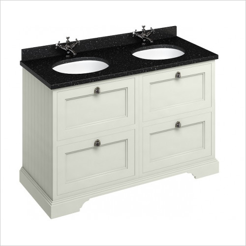 Burlington - 1300mm Freestanding Vanity Unit With Drawers
