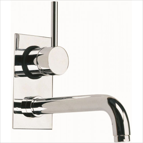 Cifial - Techno 465 2 Hole Single Lever Wall Basin Mixer