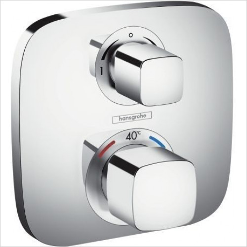Hansgrohe - Ecostat E Thermostat Concealed 2 Outlets