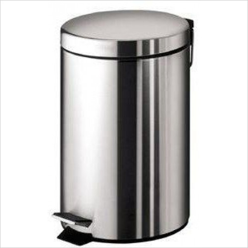 Bathroom Origins - Gedy Complements Pedal Bin 3 Litre
