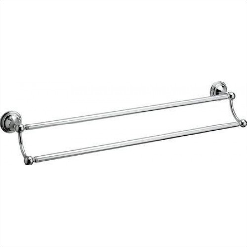 Crosswater - Belgravia Double Towel Rail 600mm