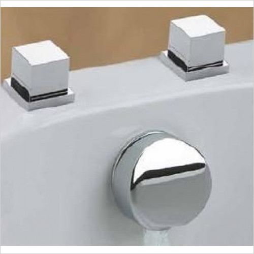 Cifial - Quadrado Thermostatic Aqua Filler & Deck Valves