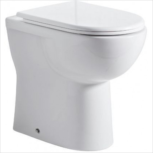 Tavistock Bathrooms - Ion/Micra Comfort Back To Wall Pan