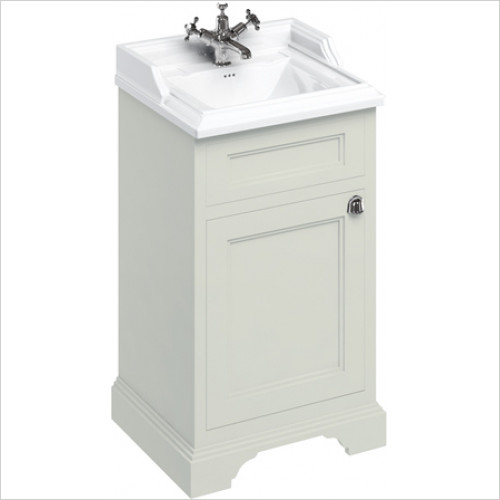 Burlington - 500 Freestanding Basin Unit With Reversible Door