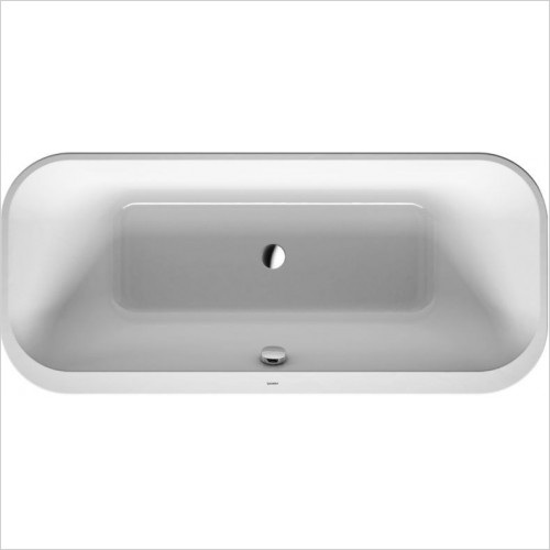 Duravit - Happy D.2 Bathtub 1800x800mm Lay-On Version