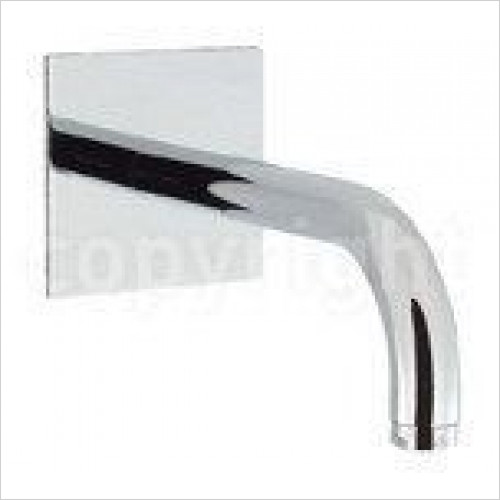 Crosswater - Design Bath Spout 160mm, Wall Mounted