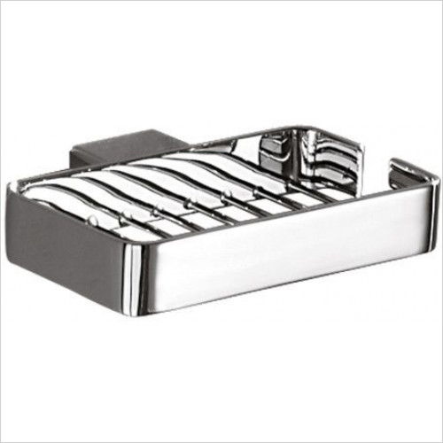 Bathroom Origins - Gedy Lounge Metal Soap Basket