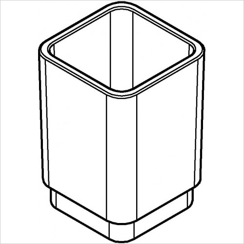 Grohe - Selection Cube Glass