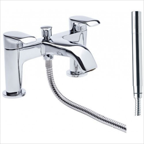 Tavistock - Tier Deck Mounted Bath Shower Mixer