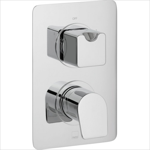 Vado - Photon 2 Outlet 2 Handle Thermostatic Shower Valve