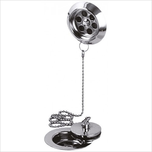 Vado - StowaWay Bath Waste Metal Plug & Chain 1 1/2''