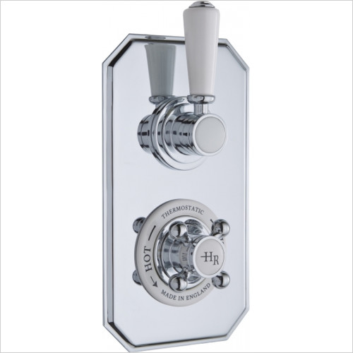 Hudson Reed - Topaz Twin Thermostatic Shower Valve