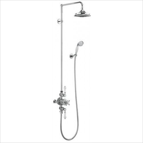 Burlington - Avon 2 Outlet Exposed Shower Valve Set
