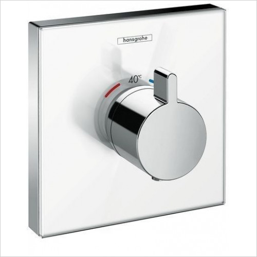 Hansgrohe - Showerselect Glas Therm Mixer Highflow For Conc Installation