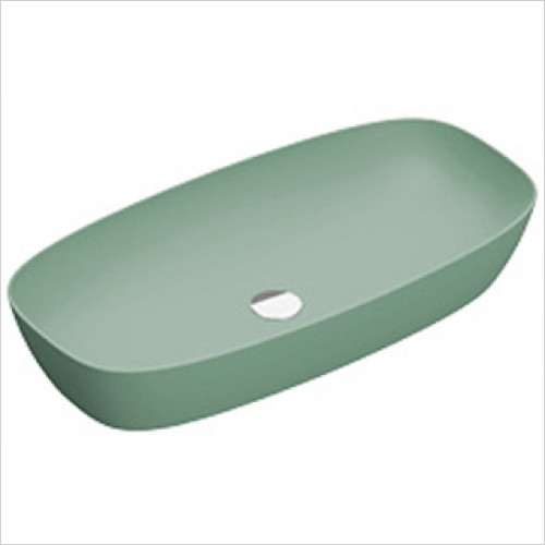 Catalano - Green Lux 80 Sit On Basin 0TH 80 x 40cm