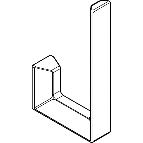 Grohe - Selection Cube Spare Toilet Roll Holder