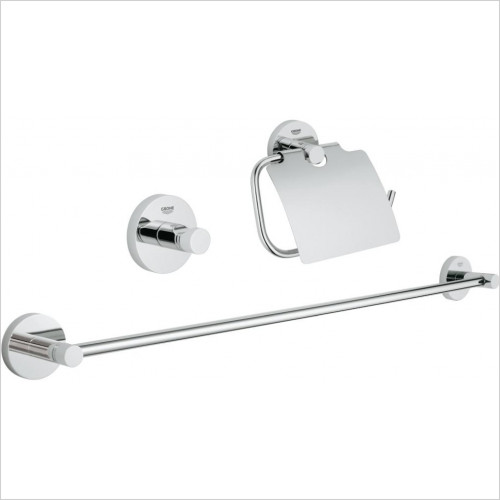 Grohe - Essentials 3 In 1 Guest Bathroom Accessories Set