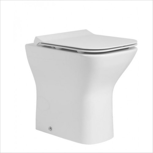Tavistock Bathrooms - Structure Comfort Height Back To Wall Pan 500mm