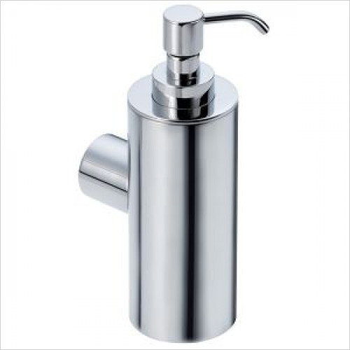 Violek - Round Soap Dispenser Solid Brass