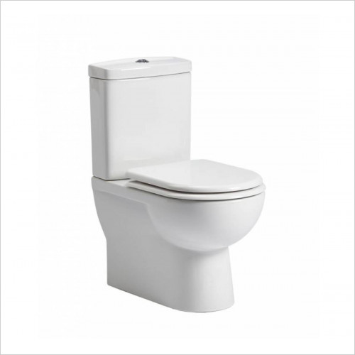Micra Close Coupled Fully Back To Wall Toilet WC Soft Seat 6
