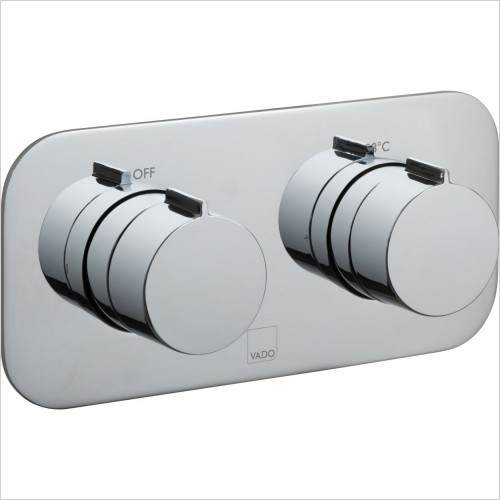 Vado - Tablet Altitude Horizontal Concealed Thermostatic Valve