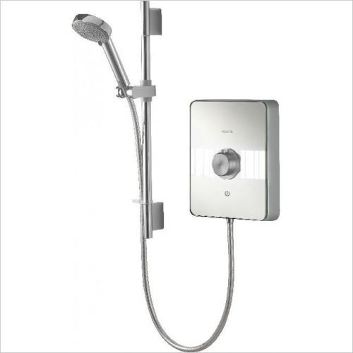 Aqualisa - Lumi Electric Shower 10.5kW With Adjustable Head