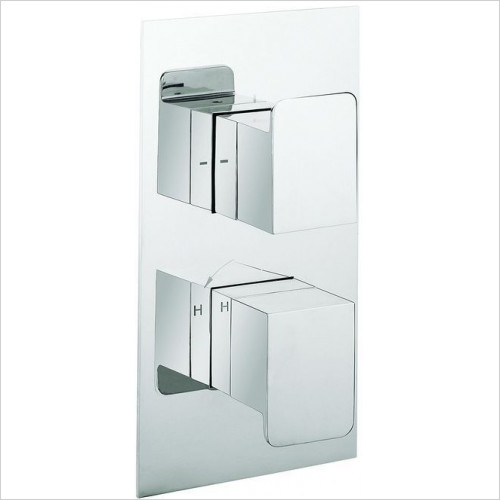 Crosswater - Zero Three Thermostatic Shower Valve, Portrait