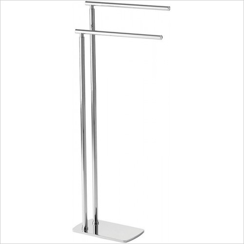 Bathroom Origins - Gedy Florida Towel Stand