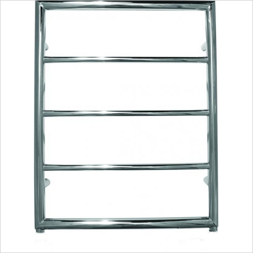 JIS Sussex - Alfriston Electric Flat Fronted Towel Rail 650x520mm