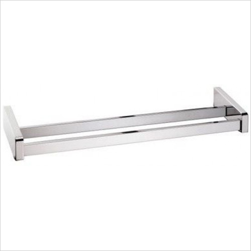 Bathroom Origins - Sonia S3 Double Towel Bar 63cm