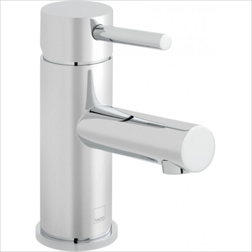 Vado - Zoo Mono Basin Mixer Single Lever Smooth Bodied Deck Mounted