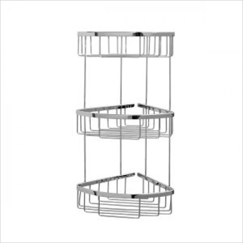 Violek - Corner Basket With Three Tiers