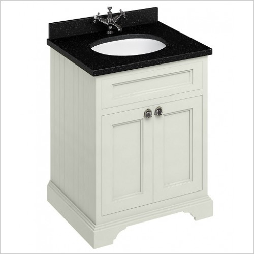 Burlington - 600 Freestanding Basin Unit With Doors