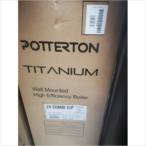 Potterton - Titanium 24 kW Combination Boiler Flue and Timer