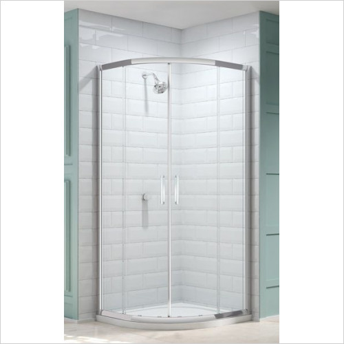 Merlyn - 8 Series 2 Door Quad 900mm Incl MStone Tray