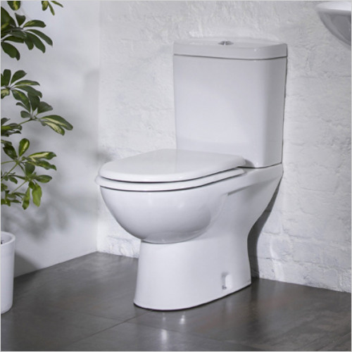 Tavistock Bathrooms - Micra 600 Projection Close Coupled WC Soft Seat