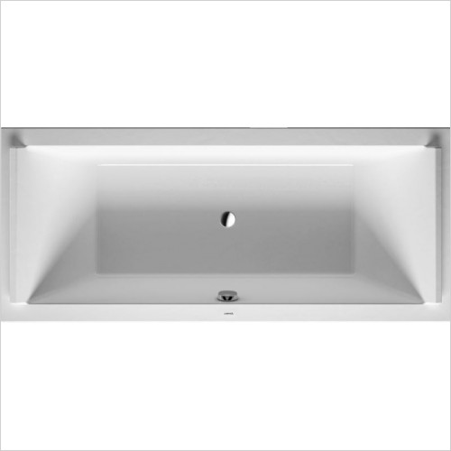 Duravit - Starck Bathtub 1800x900mm Built-In Incl Support Frame