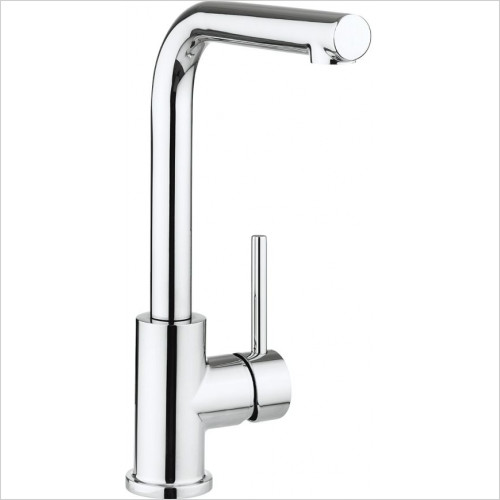 Crosswater - Design Side Lever Kitchen Mixer