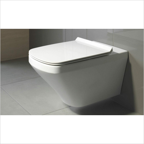 Duravit - Durastyle Square Wall Hung Toilet WC Pan Box 45520900A