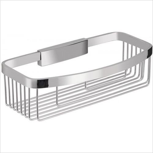 Bathroom Origins - Gedy Removable Rectangular Basket
