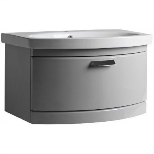 Tempo Wall Mounted Unit 1 Drawer 650mm