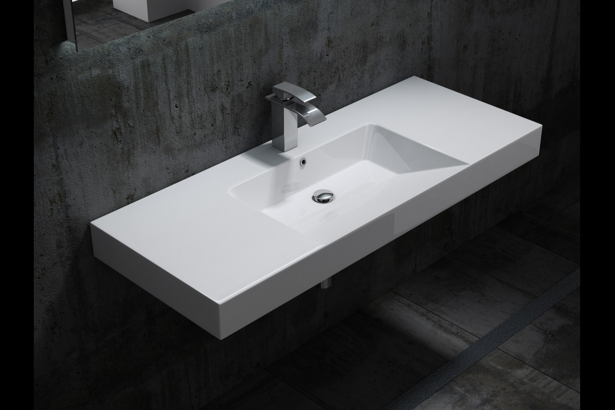 Wall hung basins in Whetstone-N20