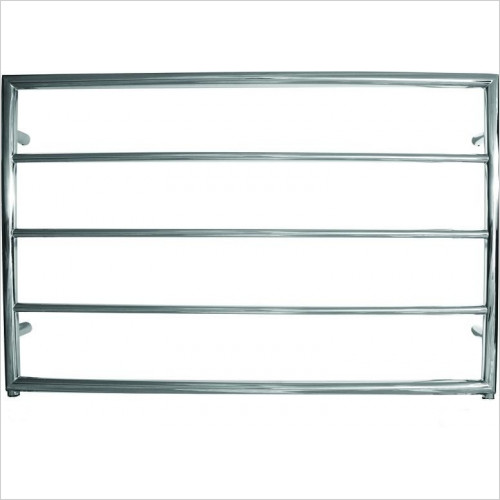 JIS Sussex - Alfriston Adj Electric Flat Fronted Towel Rail 650x1000mm
